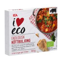 Ekologiškas mėsos sultinys I LOVE ECO, 66g