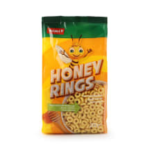 Teraviljarõngad meega Rimi Honey rings 250g