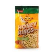 Sausi pusryčiai RIMI HONEY RINGS, 250g