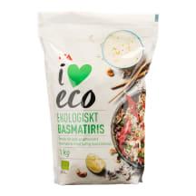 Ekologiški BASMATI ryžiai I LOVE ECO, 1kg