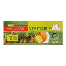 Sultinio kubeliai su daržovėmis RIMI, 120 g