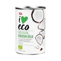 Kokosriekstu piens I Love Eco 400ml