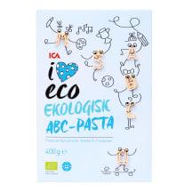 Ekologiški makaronai I LOVE ECO ABC, 400g