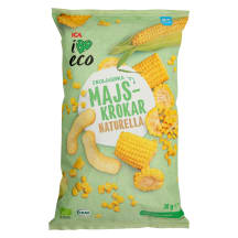 Ekologiški kukurūzai I LOVE ECO, 30g