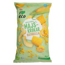 Ekoloģiska kukurūza I Love Eco 30g