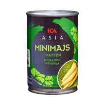 Mazā kukurūza ICA Asia 425/225g