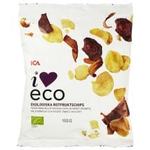 Mahedad juurviljakrõpsud I love eco 100g