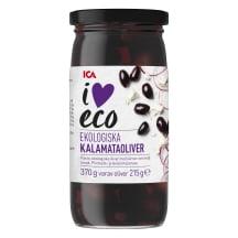 Kalamata olīvas I Love Eco 370g/215g