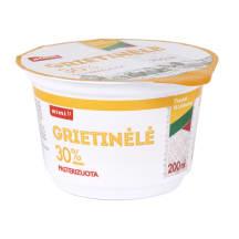Pasterizuota grietinėlė RIMI, 30 %, 200 ml