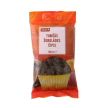 Juodojo šokolado diskeliai RIMI, 100g