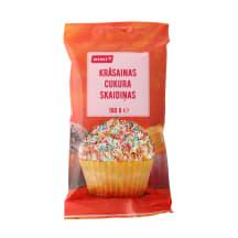 Krāsainas cukura skaidiņas Rimi 100g