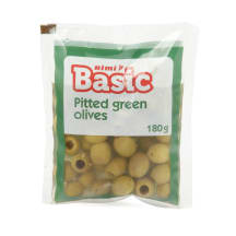 Rohelised oliivid Rimi Basic kivid. 180g/70g