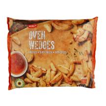 Pikant. gruzdintos bulvių skiltelės RIMI, 1kg