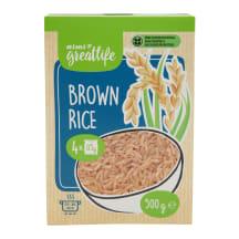 Rudieji ryžiai RIMI GREATLIFE, 500 g