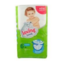 Biksītes Loving Touch XL 6 16+kg 50gab