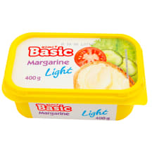 Lengvas margarinas RIMI BASIC, 40%, 400g