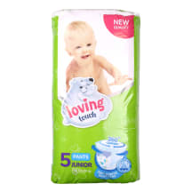 Püksmähkmed Loving Touch Junior S5 56tk