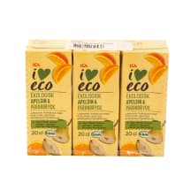 Jook apelsini, pirni I Love Eco 3x200ml