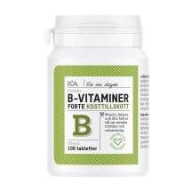 Uzt. bag. B vitamīni forte ICA 100 tabl.