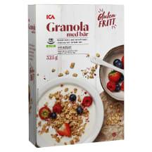 Granola ICA marjadega, gluteenivaba 325g