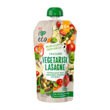 Püree I Love Eco lasanje 6k 120g