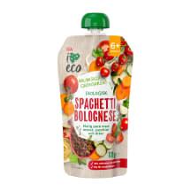 Tyrė I LOVE ECO spagečių, nuo 6mėn, 120g