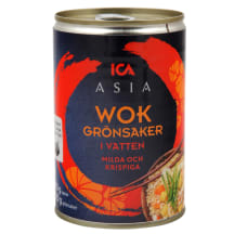 WOK köögiviljadega ICA Asia 410/220g