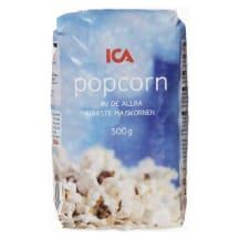 Popkorns ICA 500g