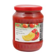 Saldžiųjų paprikų lečas RIMI, 700 g