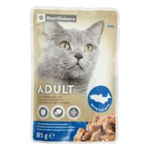 Kačių ėdalas su lašiša NUTRIBALANCE, 85g