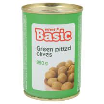 Rohel. oliivid Rimi Basic kivideta 280g