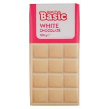 Baltasis šokoladas RIMI BASIC, 100 g