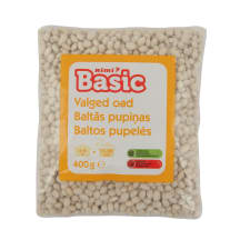 Baltos pupelės RIMI BASIC, 400 g