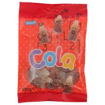 Rūgštūs želė saldainiai Kola RIMI, 100 g