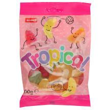Želejkonfektes Tropical mix 100g