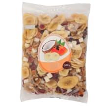 Vaisių ir riešutų mišinys EXOTIC RIMI, 500 g