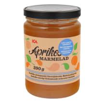 Aprikožu marmelāde ICA bez piev. cukura 390g