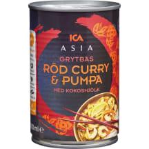 Punane karri kõrvitsaga ICA Asia 400ml
