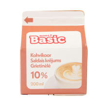 Kohvikoor Rimi Basic 10% 200ml