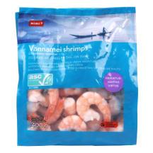 Krevetės RIMI virtos 31/40 ASC, 400 g