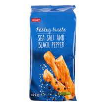 Lehttainakeerud meresoola, pipra Rimi 125 g