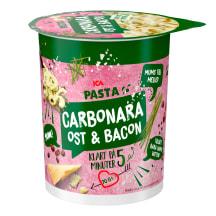 Makaronai CARBONARA ICA puodelyje, 70 g