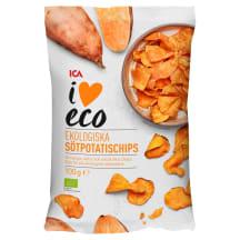 Bataadikrõpsud I Love Eco 100g