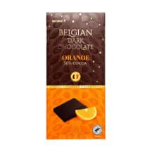 Juodasis šokoladas RIMI su apelsinų gab.,100g