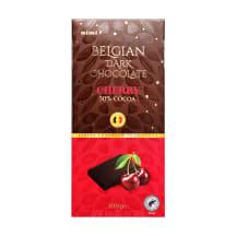 Juodasis šokoladas RIMI su vyšniomis, 100 g