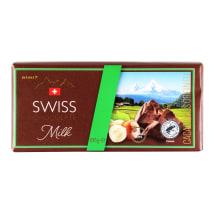 Pien. šokoladas RIMI su lazdynų rieš., 100 g
