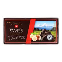 Šokoladas RIMI su lazdynų riešutais, 100 g