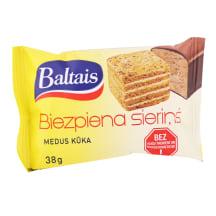 Biezpiena sieriņš Baltais medus kūka 38g