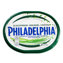 Tep. varškės sūris  česn. PHILADELPHIA, 125g