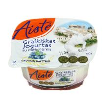 Graikiškas jogurtas su mėlynėmis AISTĖ, 160 g